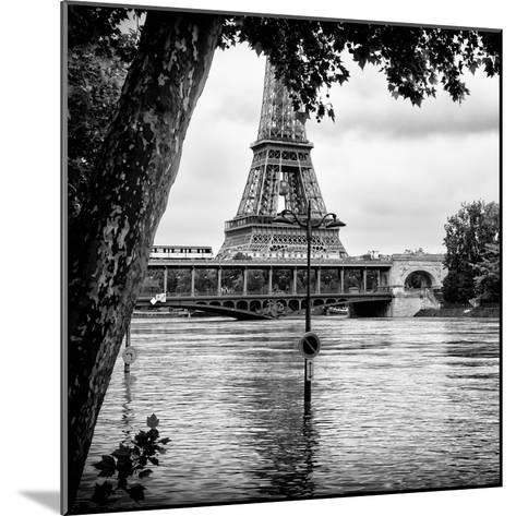 Paris sur Seine Collection - Eiffel Bridge III-Philippe Hugonnard-Mounted Photographic Print