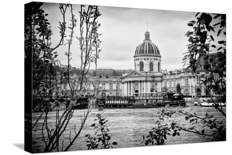 Paris sur Seine Collection - French Academy-Philippe Hugonnard-Stretched Canvas Print