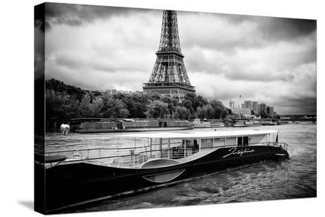 Paris sur Seine Collection - Josephine Cruise III-Philippe Hugonnard-Stretched Canvas Print