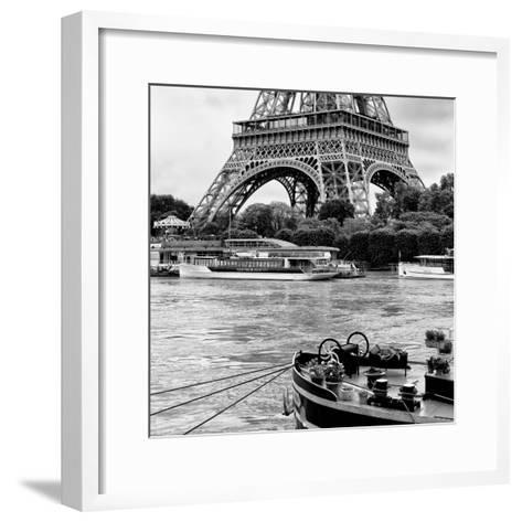Paris sur Seine Collection - Vedettes de Paris II-Philippe Hugonnard-Framed Art Print