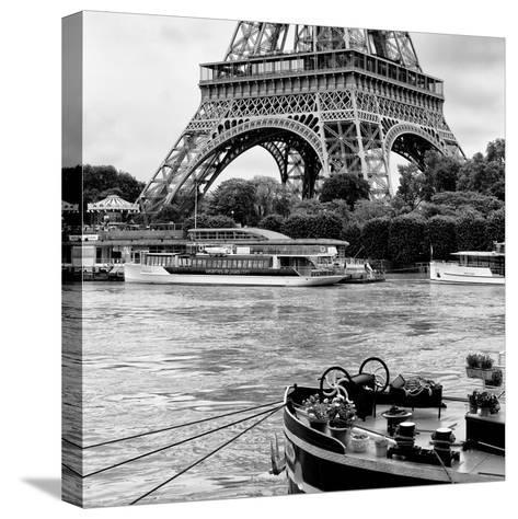 Paris sur Seine Collection - Vedettes de Paris II-Philippe Hugonnard-Stretched Canvas Print