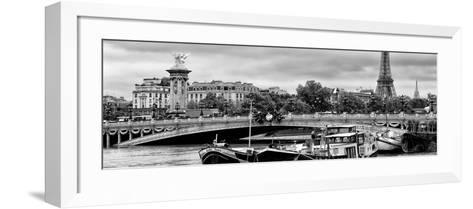 Paris sur Seine Collection - Instant in Paris II-Philippe Hugonnard-Framed Art Print