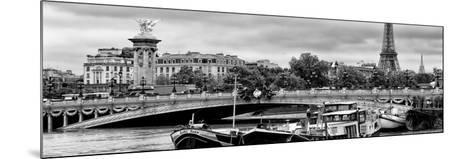 Paris sur Seine Collection - Instant in Paris II-Philippe Hugonnard-Mounted Photographic Print