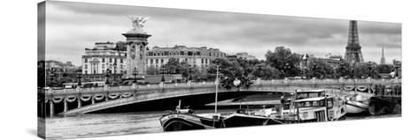 Paris sur Seine Collection - Instant in Paris II-Philippe Hugonnard-Stretched Canvas Print