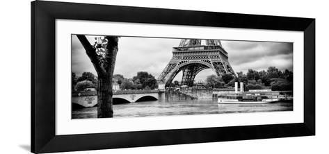 Paris sur Seine Collection - Vedettes de Paris IX-Philippe Hugonnard-Framed Art Print
