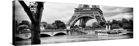 Paris sur Seine Collection - Vedettes de Paris IX-Philippe Hugonnard-Stretched Canvas Print