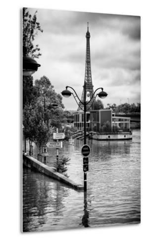 Paris sur Seine Collection - Trocadero Concorde-Philippe Hugonnard-Metal Print