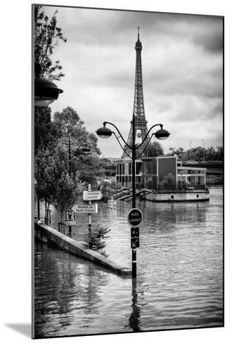 Paris sur Seine Collection - Trocadero Concorde-Philippe Hugonnard-Mounted Photographic Print