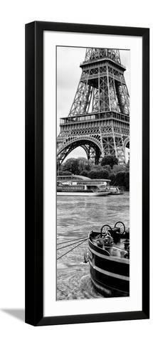 Paris sur Seine Collection - Vedettes de Paris III-Philippe Hugonnard-Framed Art Print