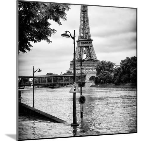 Paris sur Seine Collection - Traffic Light Panel III-Philippe Hugonnard-Mounted Photographic Print