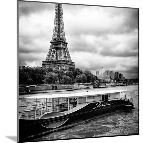 Paris sur Seine Collection - Josephine Cruise I-Philippe Hugonnard-Mounted Photographic Print