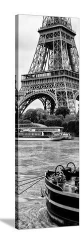 Paris sur Seine Collection - Vedettes de Paris III-Philippe Hugonnard-Stretched Canvas Print