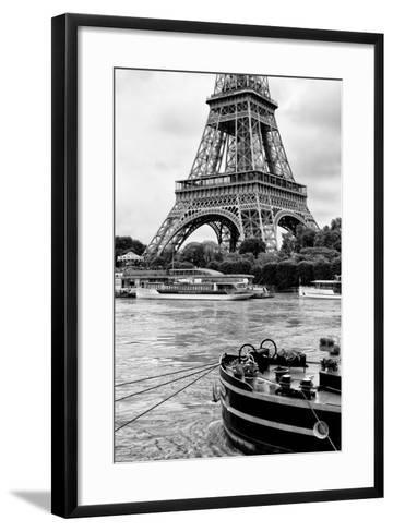 Paris sur Seine Collection - Vedettes de Paris-Philippe Hugonnard-Framed Art Print