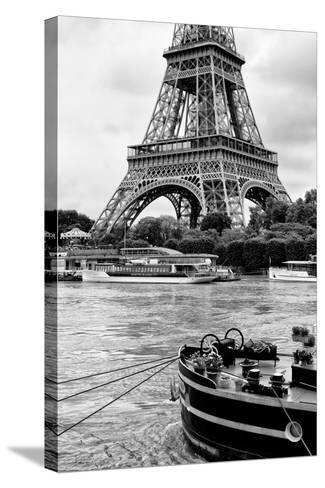Paris sur Seine Collection - Vedettes de Paris-Philippe Hugonnard-Stretched Canvas Print