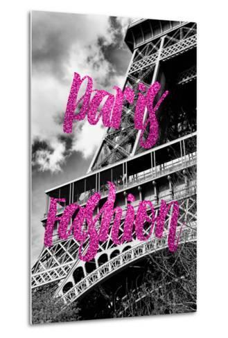 Paris Fashion Series - Paris Fashion - Eiffel Tower III-Philippe Hugonnard-Metal Print