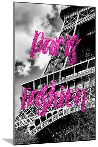Paris Fashion Series - Paris Fashion - Eiffel Tower III-Philippe Hugonnard-Mounted Photographic Print