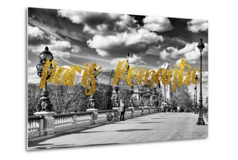 Paris Fashion Series - Paris Romantic-Philippe Hugonnard-Metal Print