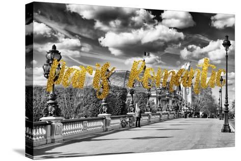 Paris Fashion Series - Paris Romantic-Philippe Hugonnard-Stretched Canvas Print