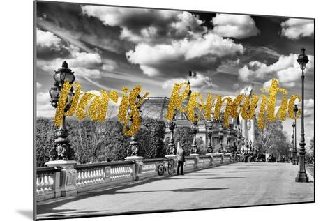 Paris Fashion Series - Paris Romantic-Philippe Hugonnard-Mounted Photographic Print