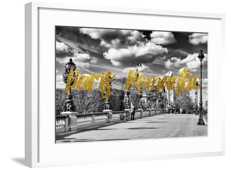 Paris Fashion Series - Paris Romantic-Philippe Hugonnard-Framed Art Print