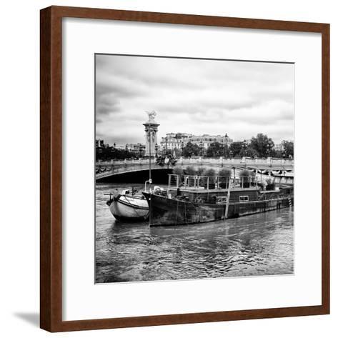Paris sur Seine Collection - Afternoon in Paris VII-Philippe Hugonnard-Framed Art Print