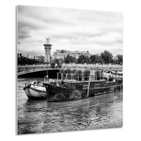 Paris sur Seine Collection - Afternoon in Paris VII-Philippe Hugonnard-Metal Print
