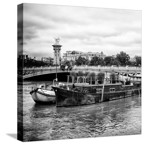 Paris sur Seine Collection - Afternoon in Paris VII-Philippe Hugonnard-Stretched Canvas Print