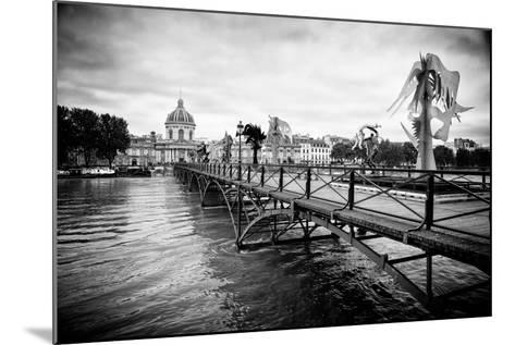 Paris sur Seine Collection - Pont des Arts-Philippe Hugonnard-Mounted Photographic Print
