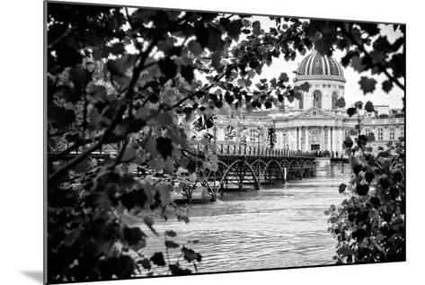 Paris sur Seine Collection - Pont des Arts and French Academy-Philippe Hugonnard-Mounted Photographic Print