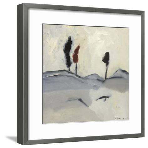 Winter Dance IV-Bradford Brenner-Framed Art Print
