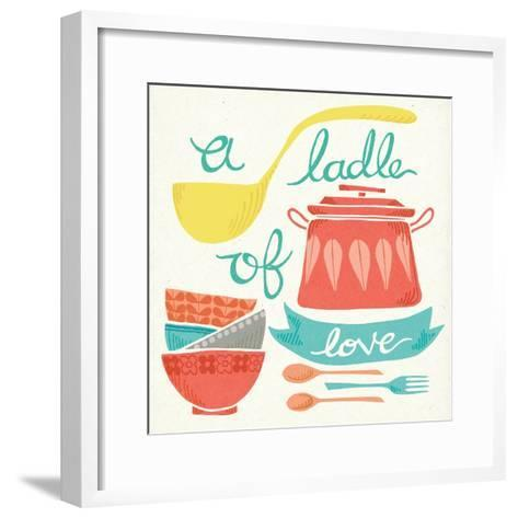 A Ladle of Love-Mary Urban-Framed Art Print