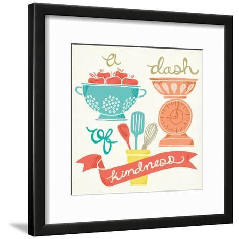 A Dash of Kindness-Mary Urban-Framed Art Print
