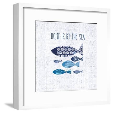 Sunday on the Coast V--Framed Art Print