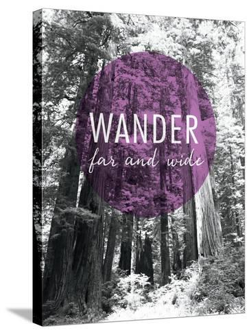 Wander Far and Wide-Laura Marshall-Stretched Canvas Print