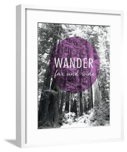 Wander Far and Wide-Laura Marshall-Framed Art Print