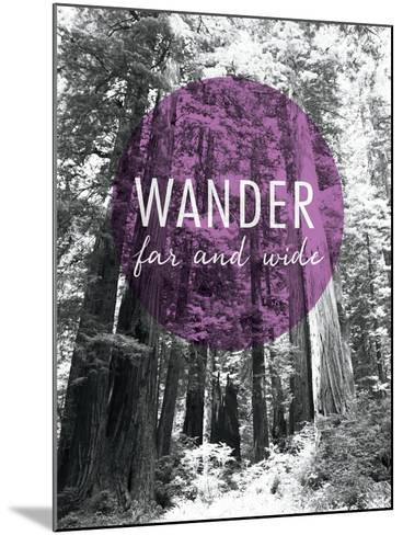 Wander Far and Wide-Laura Marshall-Mounted Art Print