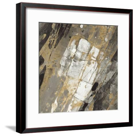 Hot Lava Neutral-Albena Hristova-Framed Art Print