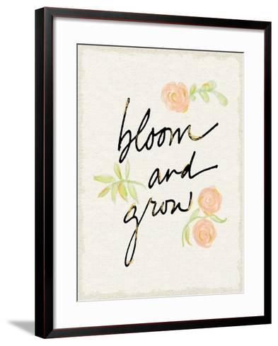 Bloom and Grow-Sue Schlabach-Framed Art Print
