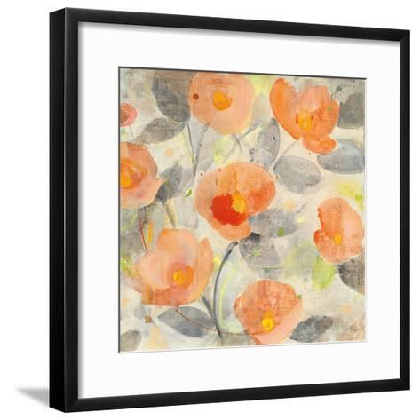 Poppy Garden II-Albena Hristova-Framed Art Print