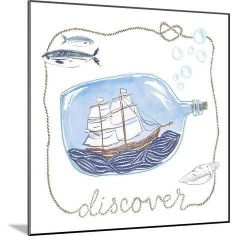 Ship in a Bottle Discover-Sara Zieve Miller-Mounted Art Print