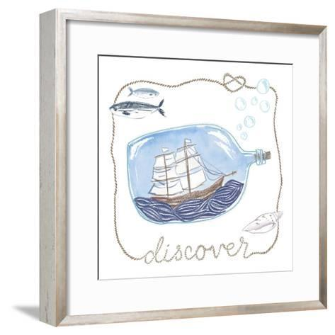 Ship in a Bottle Discover-Sara Zieve Miller-Framed Art Print