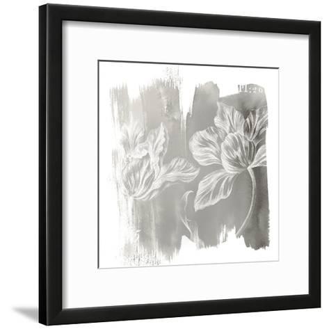 Water Wash II Neutral-Sue Schlabach-Framed Art Print