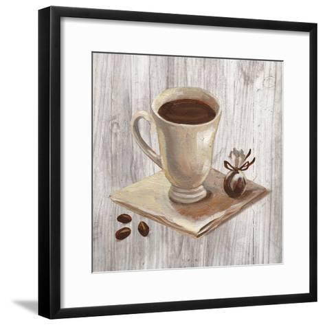 Coffee Time IV on Wood-Silvia Vassileva-Framed Art Print