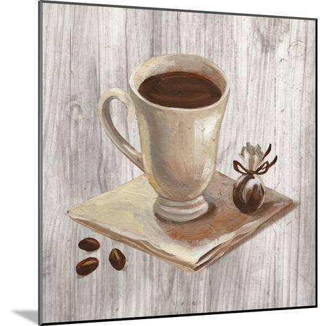 Coffee Time IV on Wood-Silvia Vassileva-Mounted Art Print