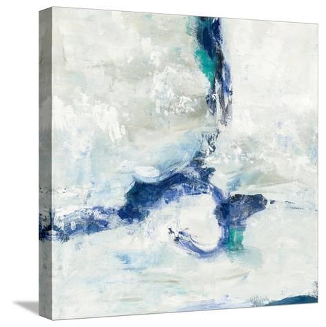 White and Blue-Silvia Vassileva-Stretched Canvas Print