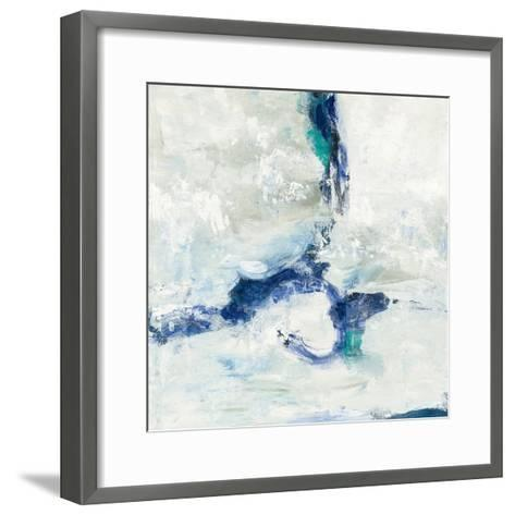 White and Blue-Silvia Vassileva-Framed Art Print
