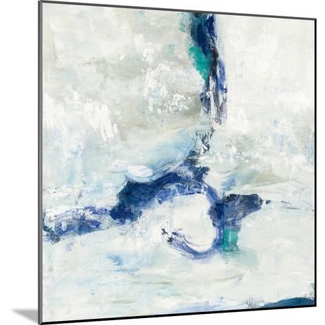 White and Blue-Silvia Vassileva-Mounted Art Print