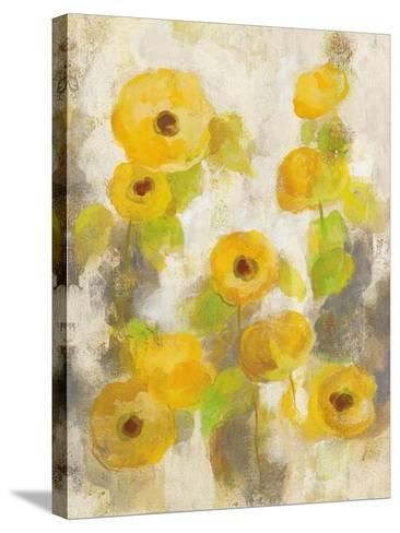 Floating Yellow Flowers II-Silvia Vassileva-Stretched Canvas Print