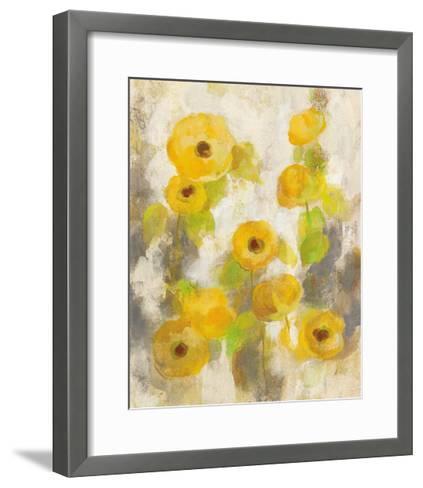 Floating Yellow Flowers II-Silvia Vassileva-Framed Art Print