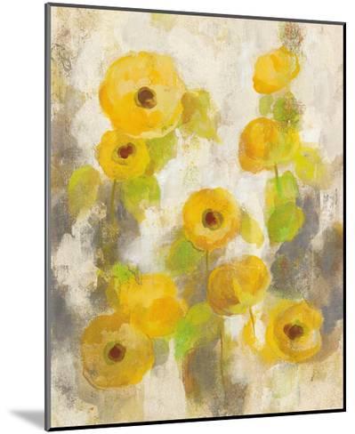 Floating Yellow Flowers II-Silvia Vassileva-Mounted Art Print